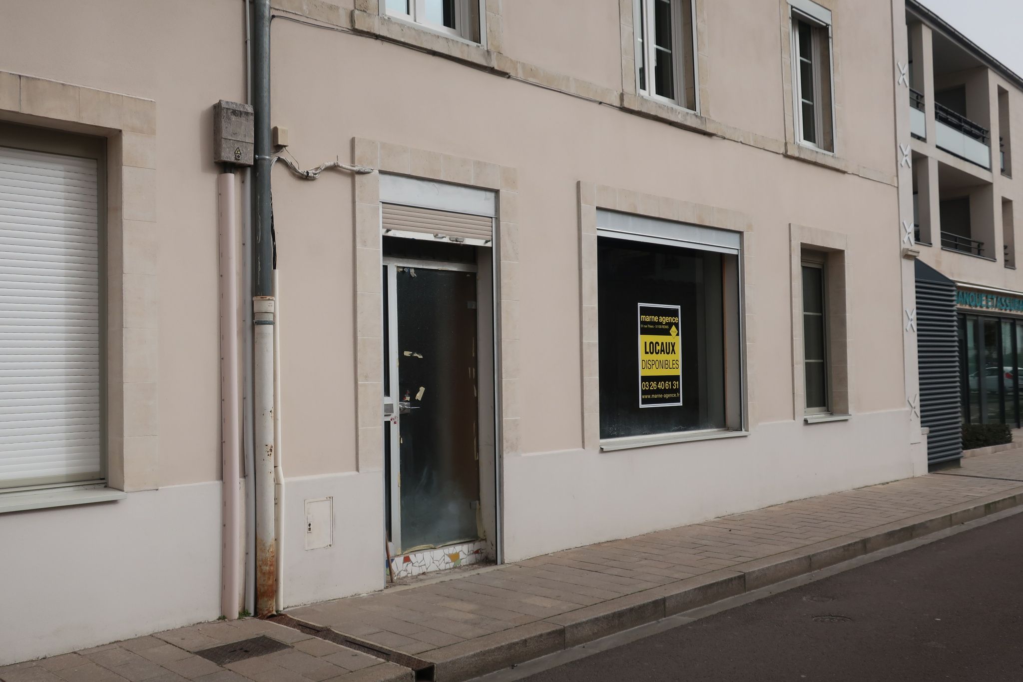 Local commercial 118m2 Cormontreuil